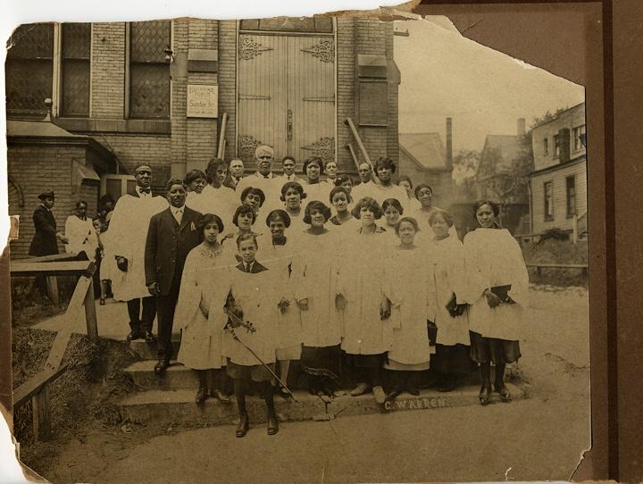 Photo of African American Group Portrait