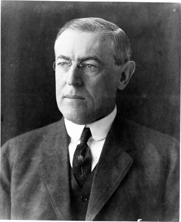 Photo of Woodrow Wilson, President of the United States, 1913-1921