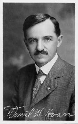 Photo of Daniel Hoan, Mayor of Milwaukee, 1916-1940