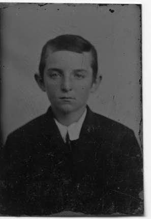 Photo of Daniel Hoan at age 9. Hoan was Mayor from 1919 - 1940