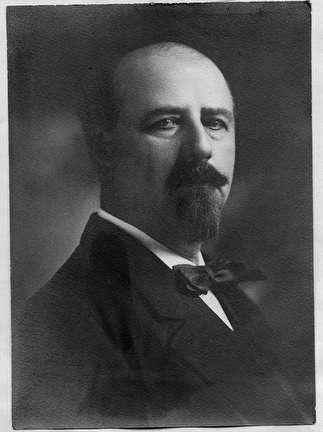Photo of David S. Rose, Mayor of Milwaukee, 1898-1906 and 1908-1910