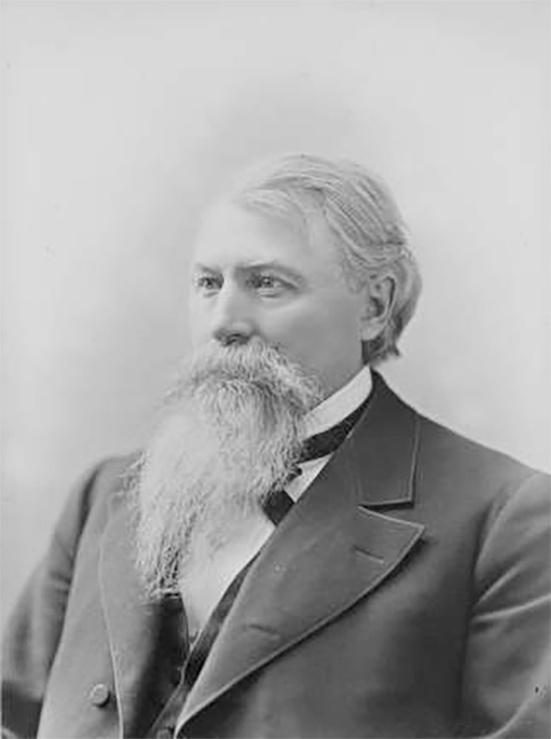 Photo of Governor Jeremiah Rusk Who Called Out the Militia over Labor