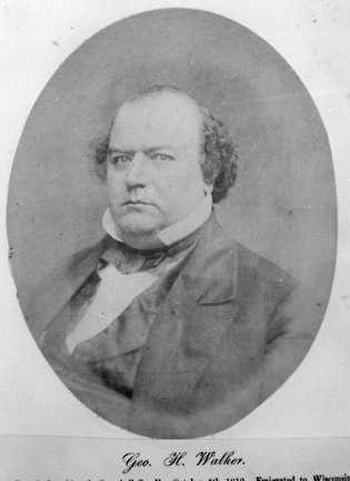 Photo of George Walker, one of Milwaukee's three founders