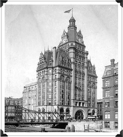 100 East Building Then