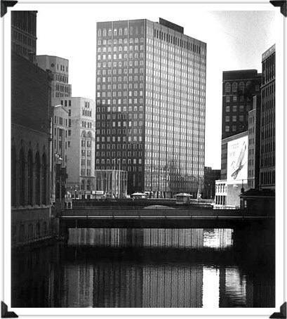 Marine Bank Building Then
