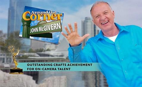 John McGivern Earns his 4th Emmy Award for Hosting