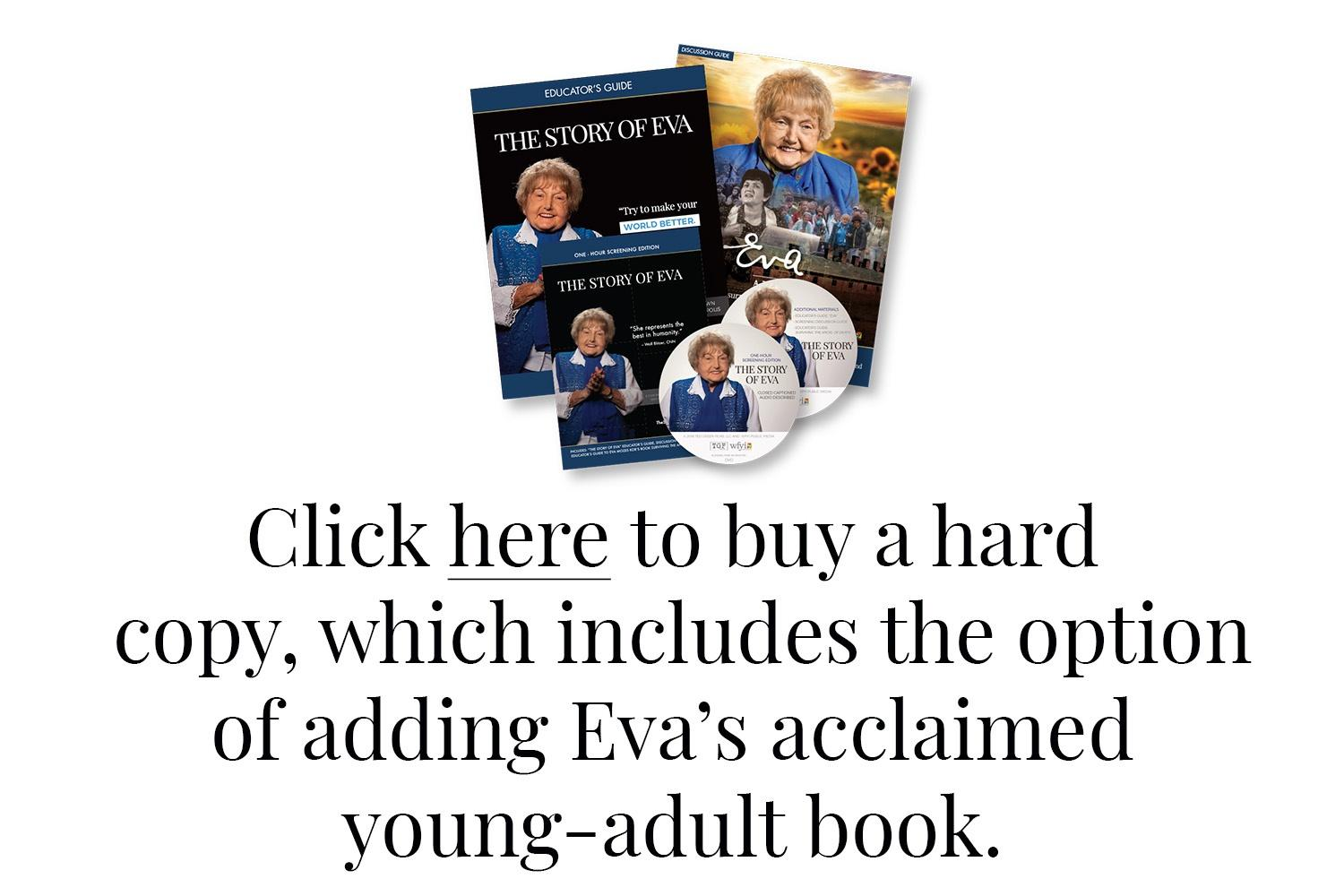 Click here to buy a hard copy, which includes the option of adding Eva's acclaimed young-adult book.