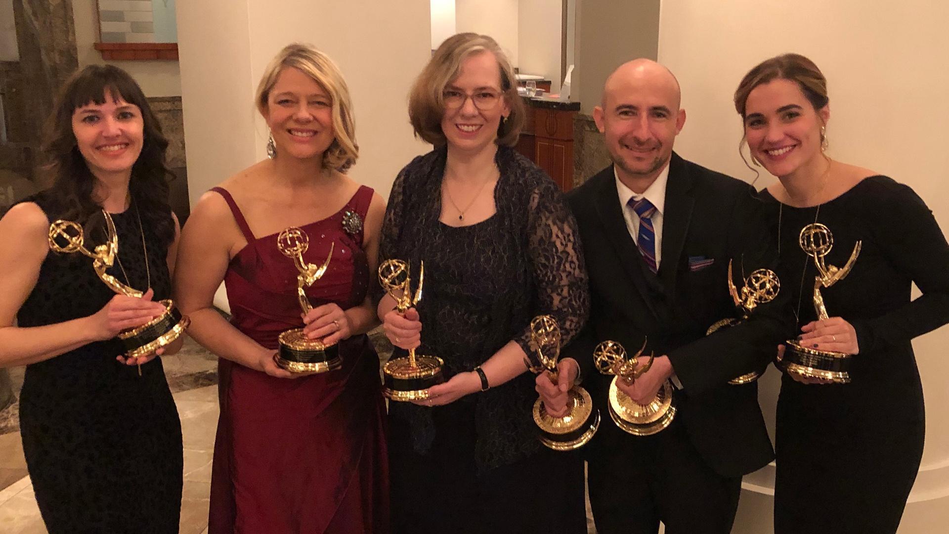 UNC-TV Team Midsouth Regional Emmys