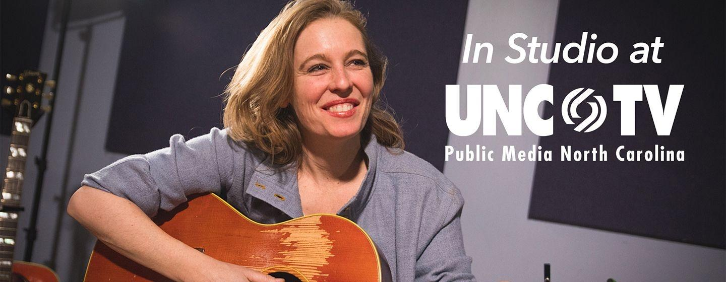 Tift Merritt in studio at UNC-TV