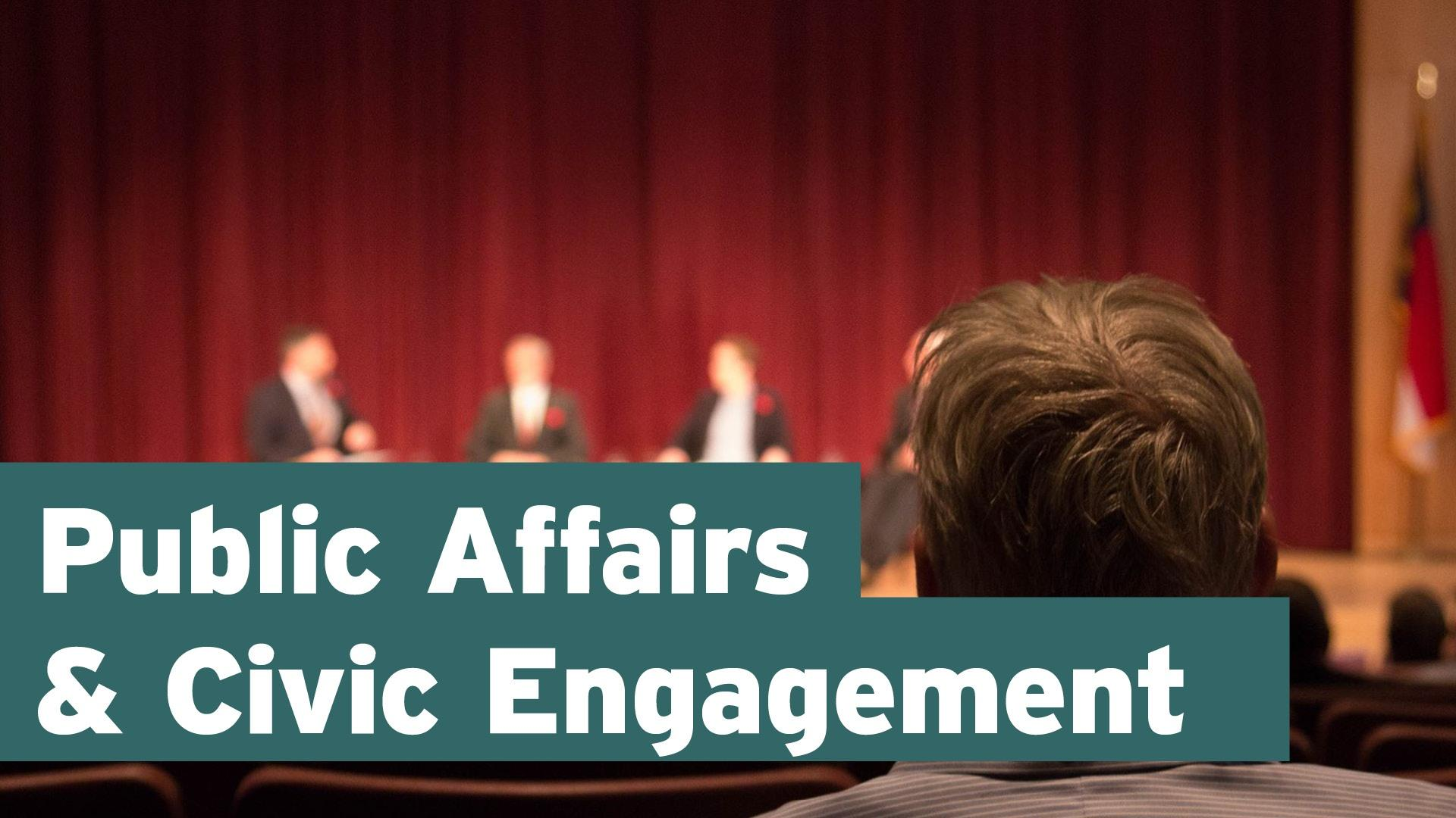 Public Affairs & Civic Engagement