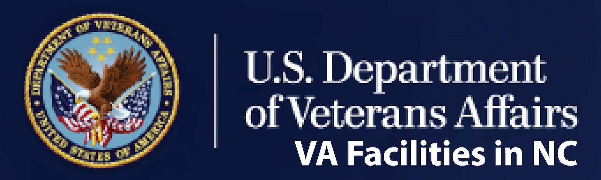 U.S. Department of Veterans Affair: VA Facilities in NC logo