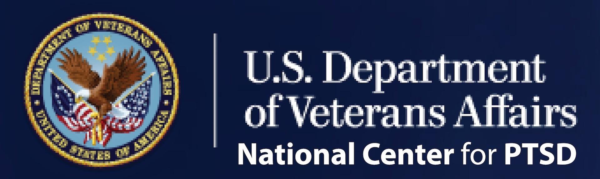 U.S. Department of Veterans Affairs: National Center for PTSD Logo
