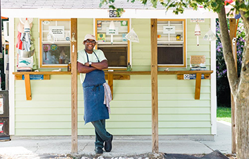 Chef Ricky Moore of Saltbox Seafood Joint