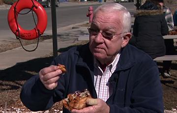 Bob Garner at Saltbox Seafood