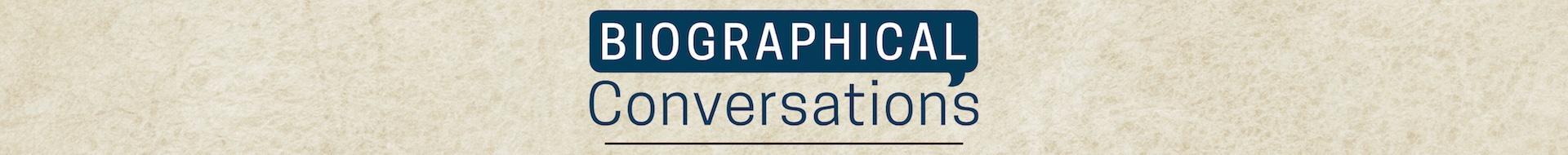 Biographical Conversation Logo Banner