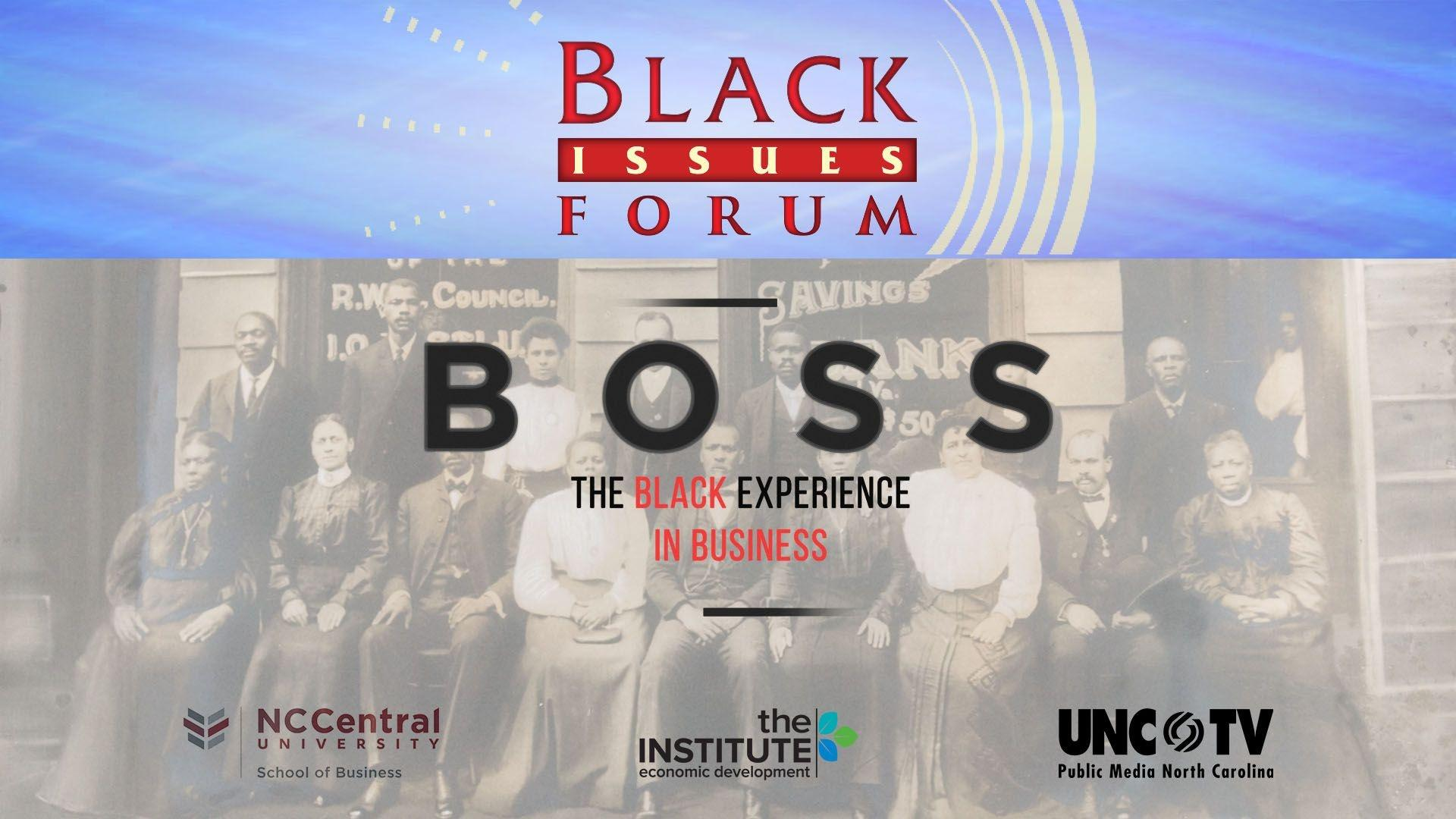 black issues forum boss special logo