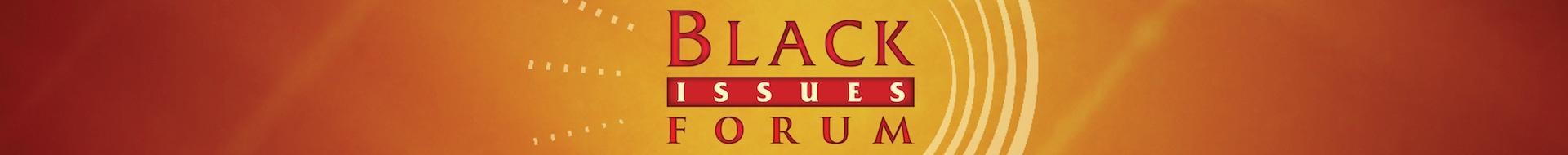 Black Issues Forum Logo Banner