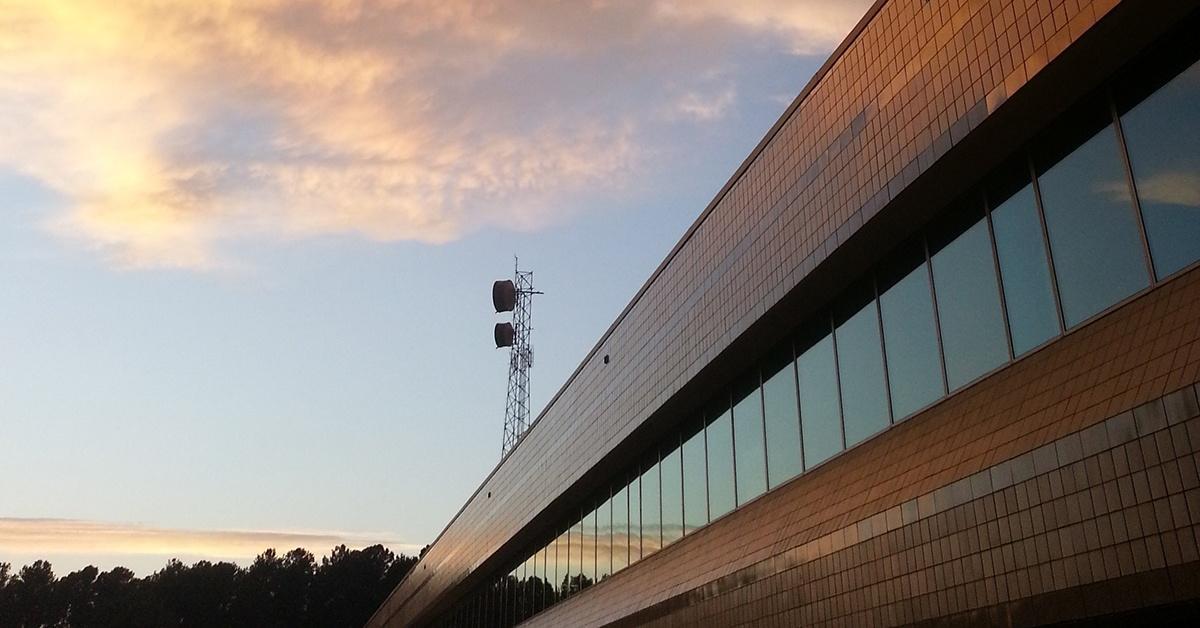 Photo of UNC-TV headquarters