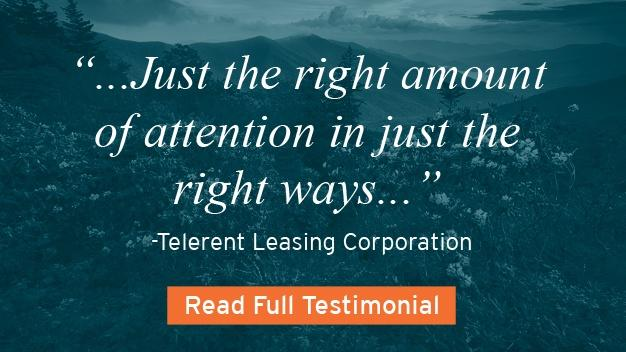 Telerent Leasing Corporation Testimonial for UNC-TV
