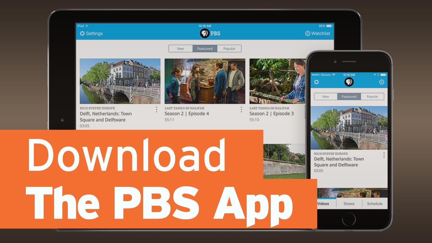 Download the PBS App