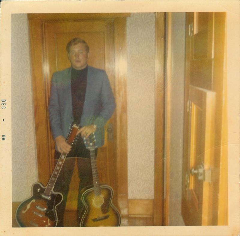 Old photo of Ken Hansen from 1969