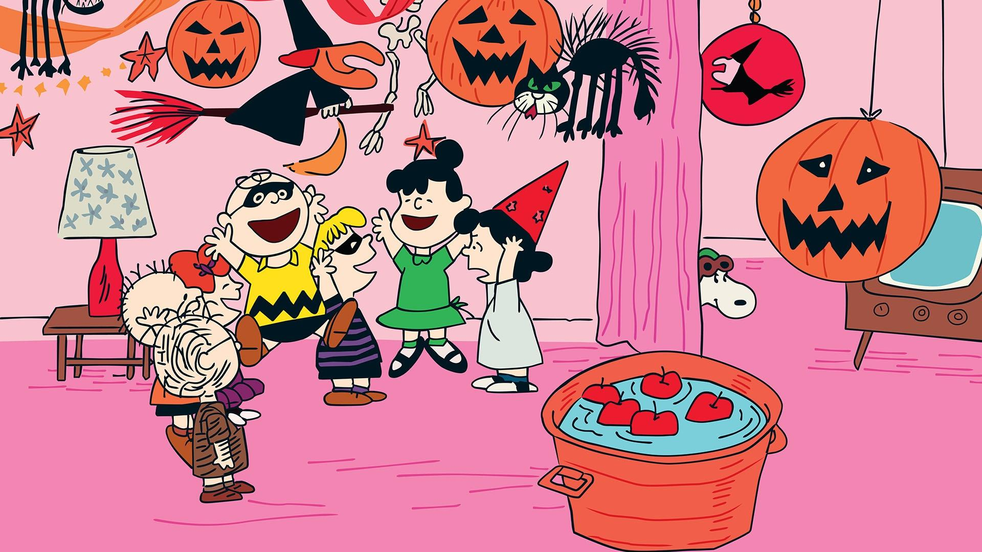scene from Charlie Brown