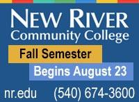 New River Community College, Fall Semester begins August 23