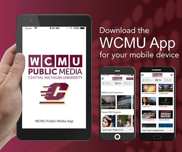 Get the WCMU App graphic