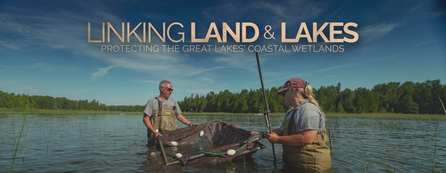 Linking Land and Lakes graphic