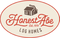 Honest Abe Log Homes Logo