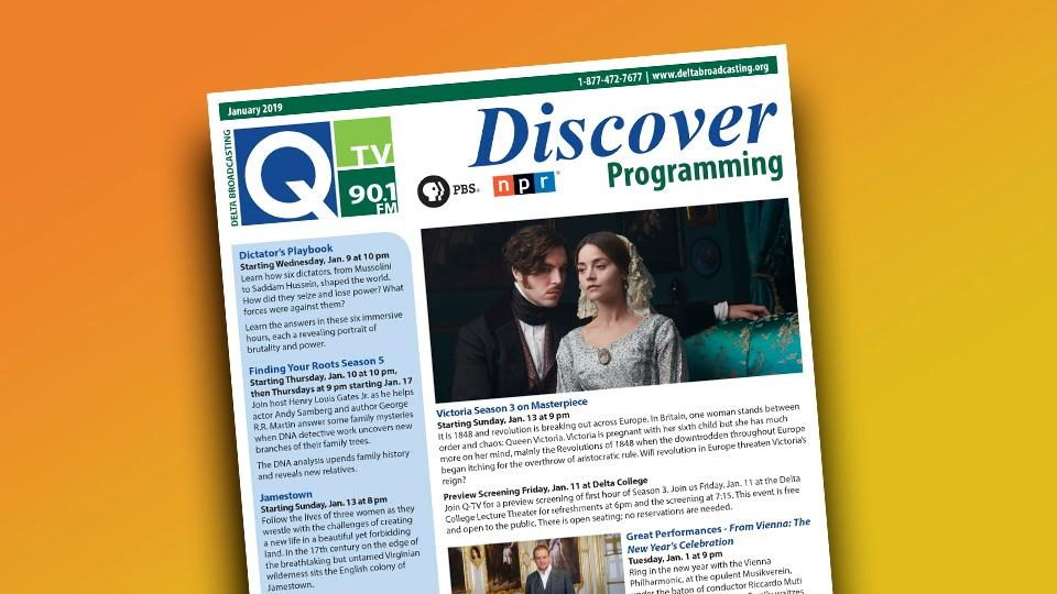 An issue of the Discover Programming Newsletter featuring Victoria on Masterpiece.