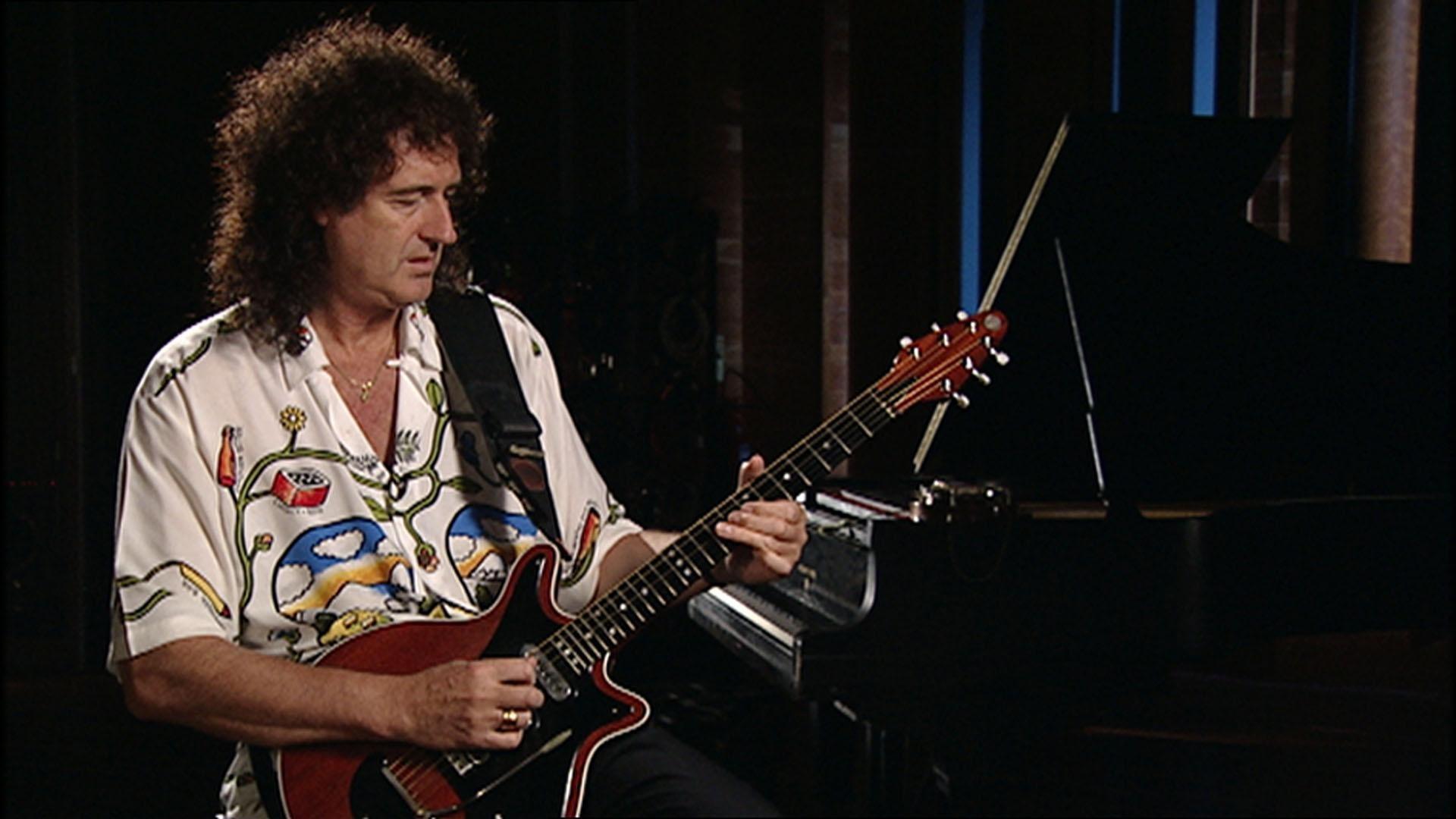 Queen guitarist Brian May.
