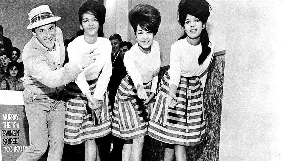 Murray the K and the Ronnettes.