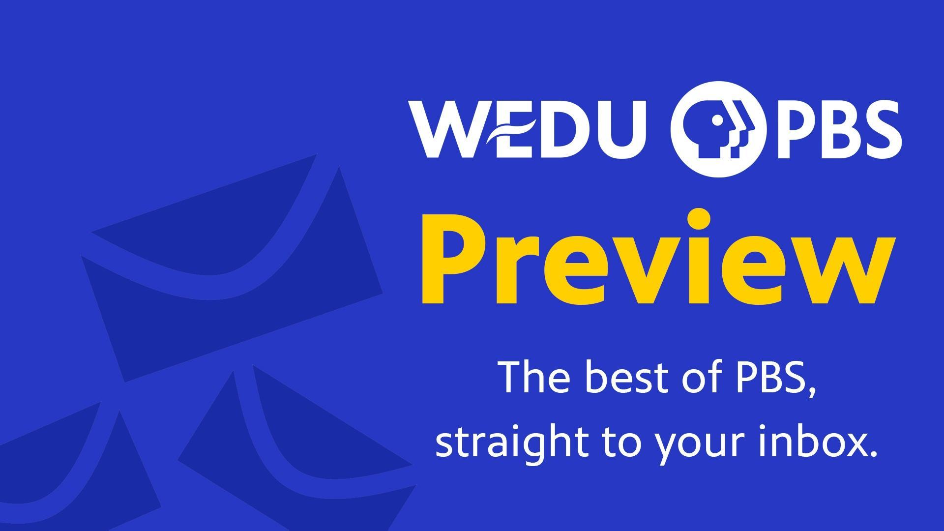 WEDU PBS Newsletter