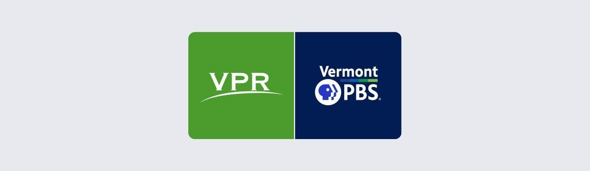 VPR / Vermont PBS logos