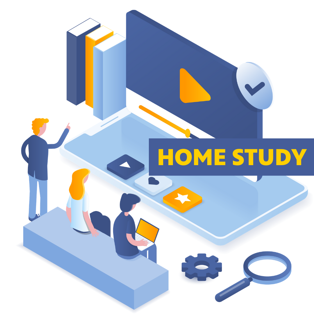 Home study button