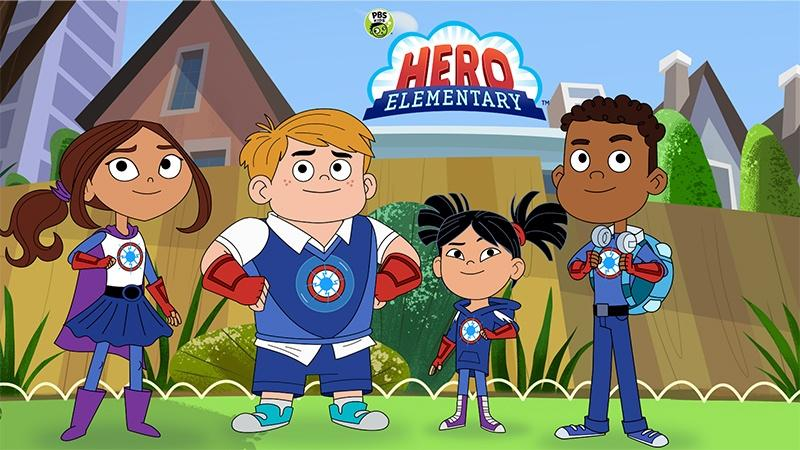 Hero Elementary graphic
