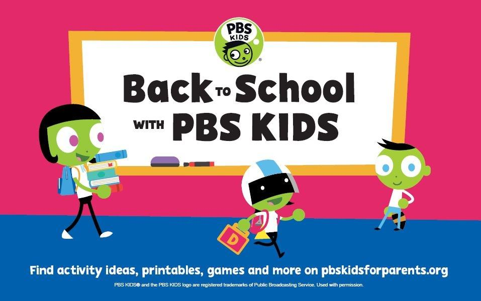 Back to School with PBS Kids