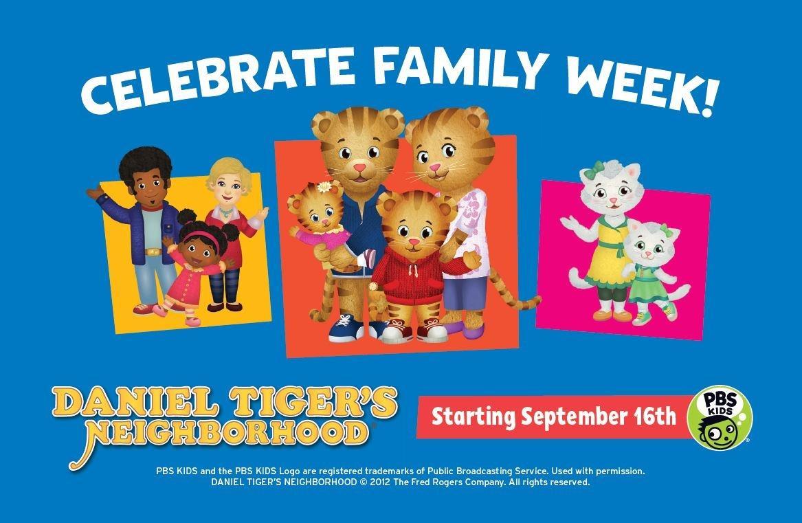 Celebrate Family Week Sept. 16