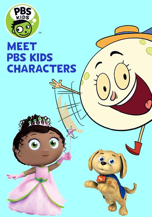 Meet PBS Kids Charcters