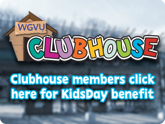 Clubhouse logo | Members click here for KidsDay benefit