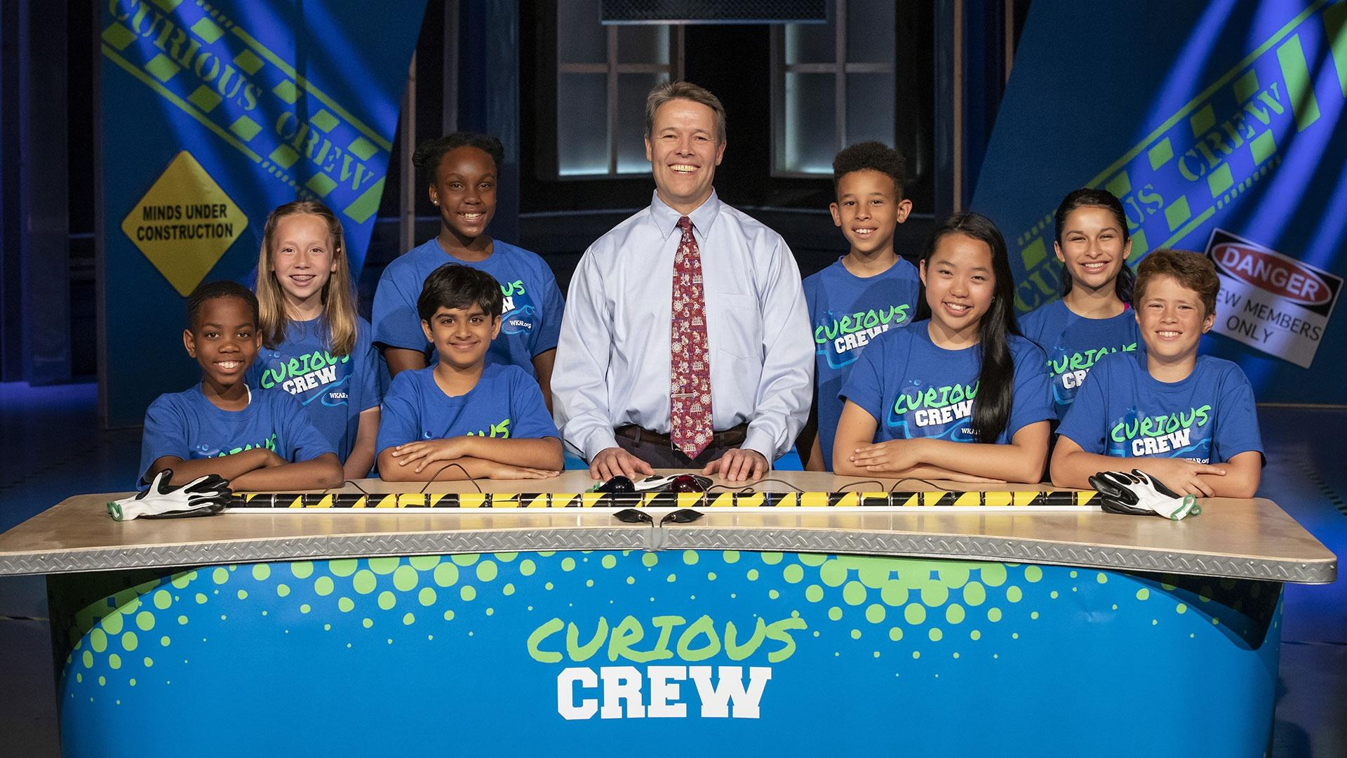 Dr. Rob Stephenson with the Curious Crew