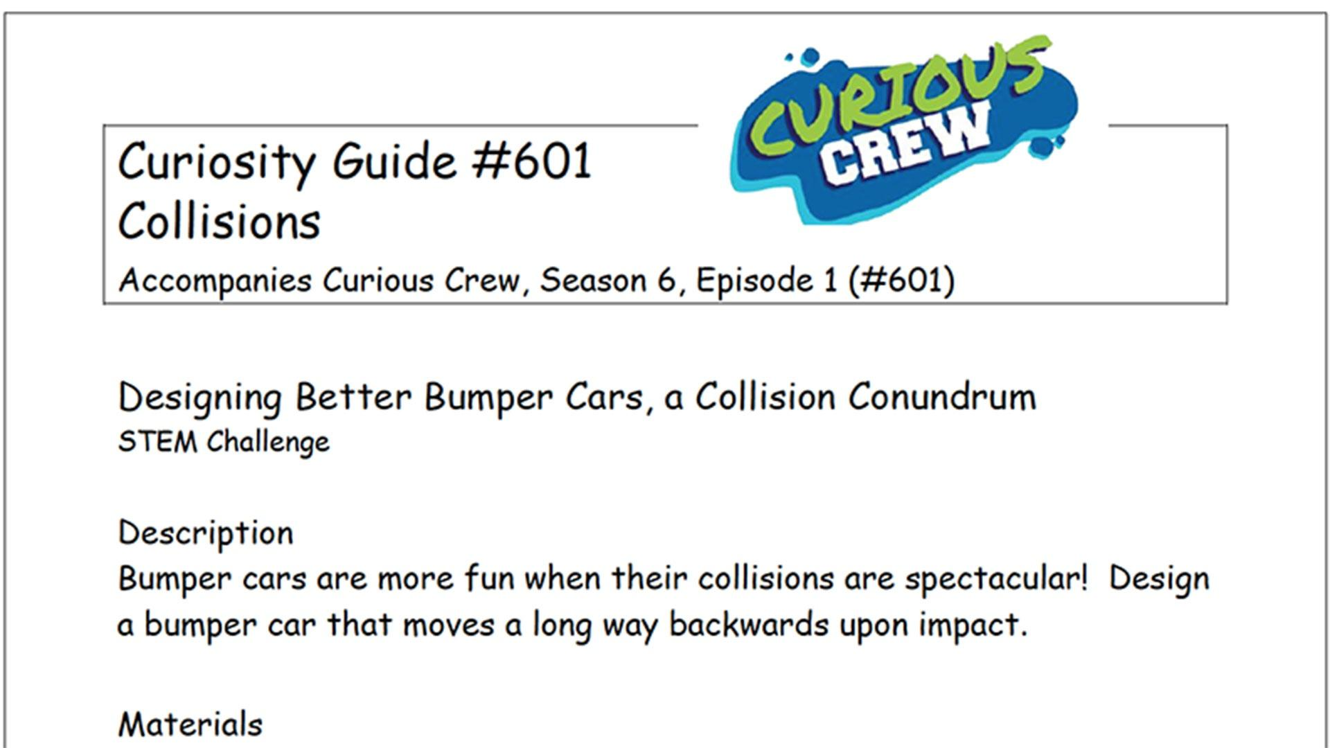 Curiosity Guide 601