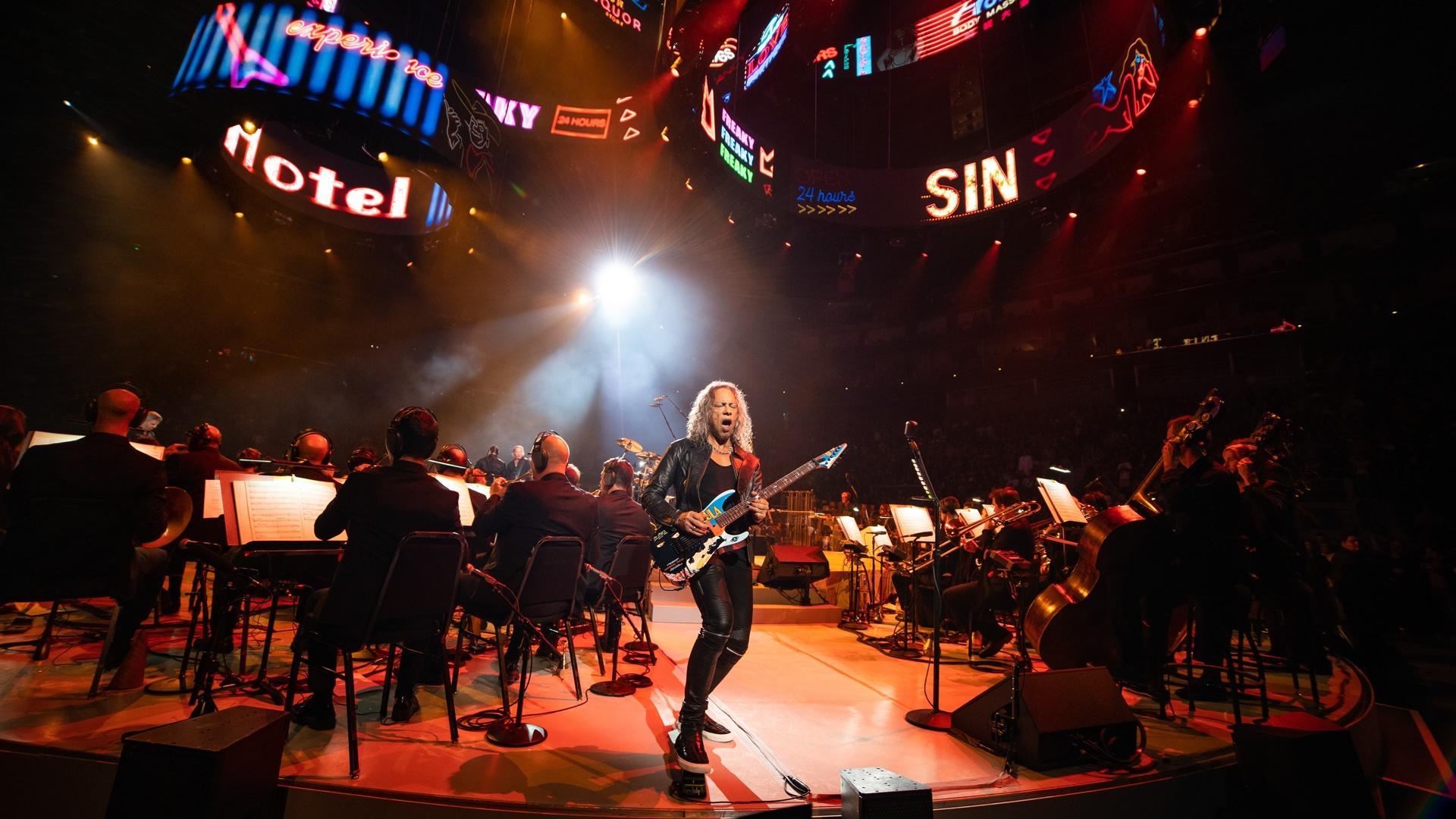 Metallica and San Francisco Symphony