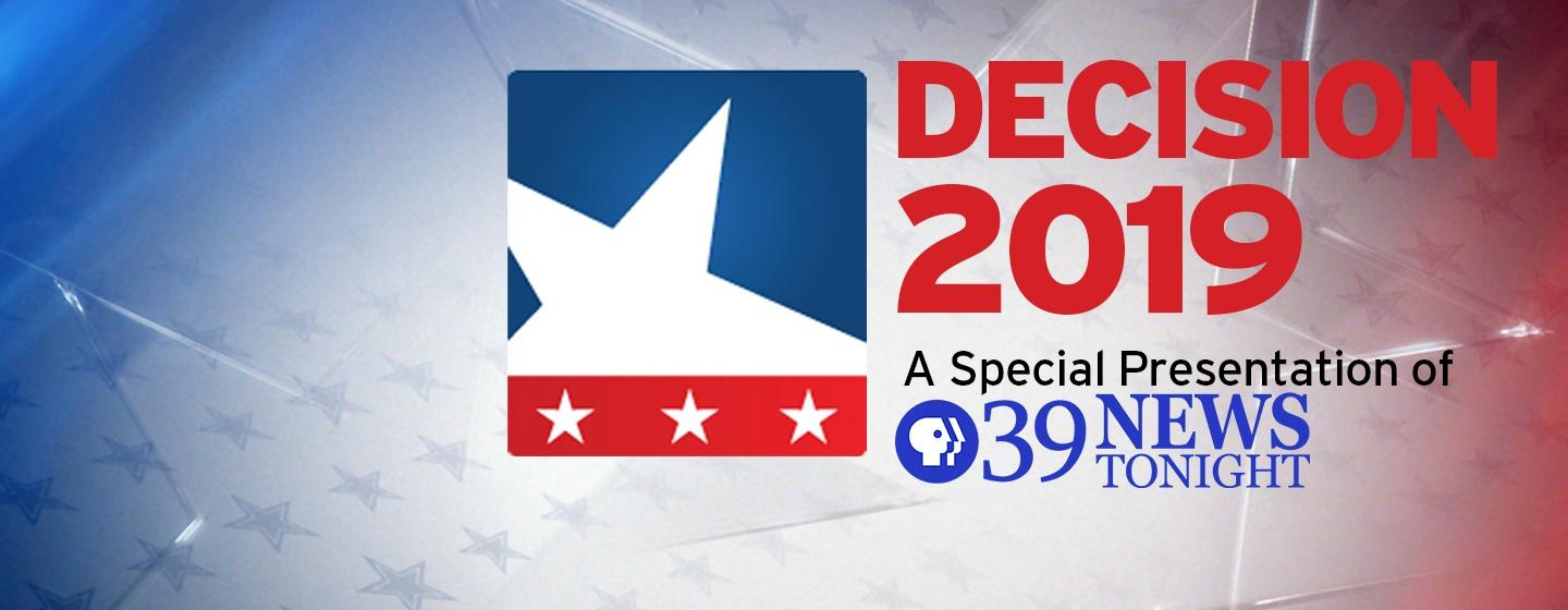 Decision 2019: A Special Presentation of PBS39 News Tonight