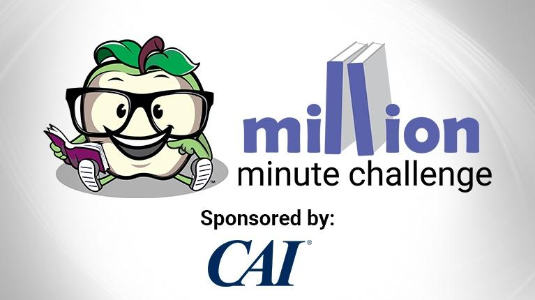 Lehigh Valley Reads Million Minute Challenge - Sponsored by CAI