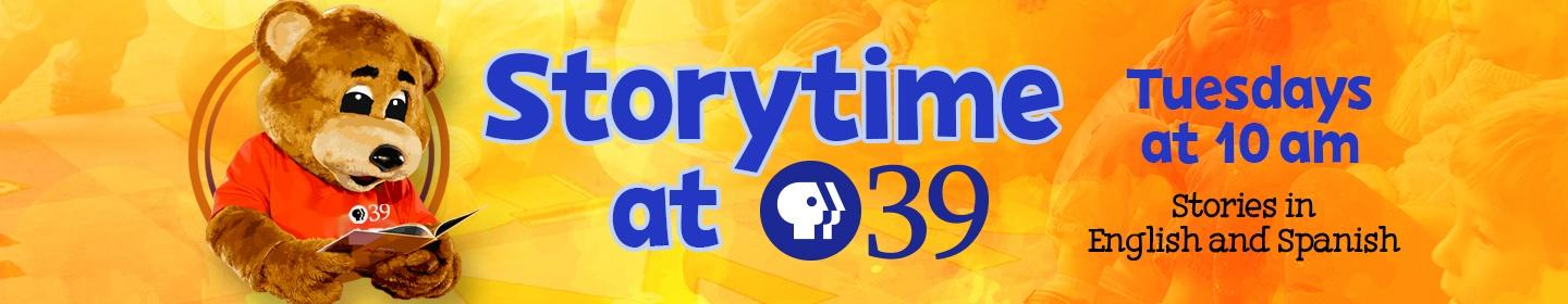 Storytime at PBS39 - every Tuesday at 10 a.m.