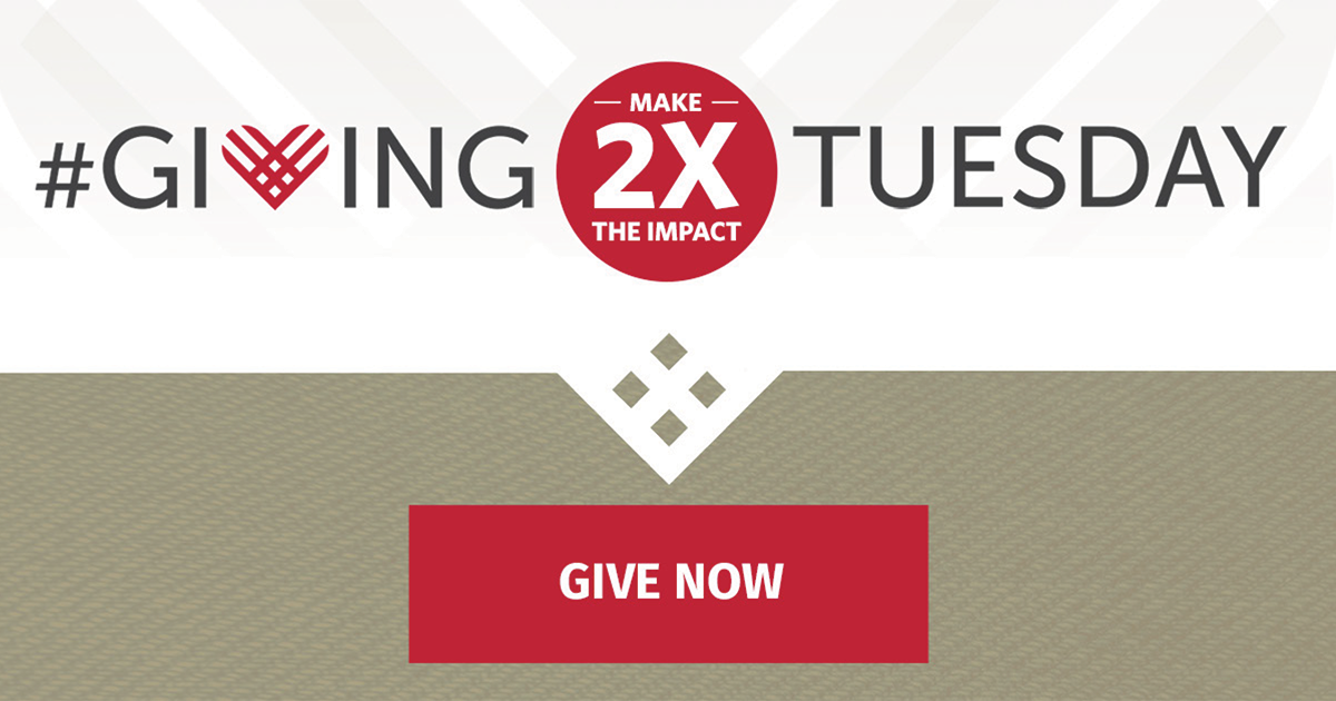 Giving Tuesday, click to Give Now