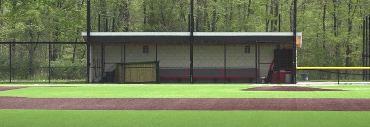 Empty Athletic Field