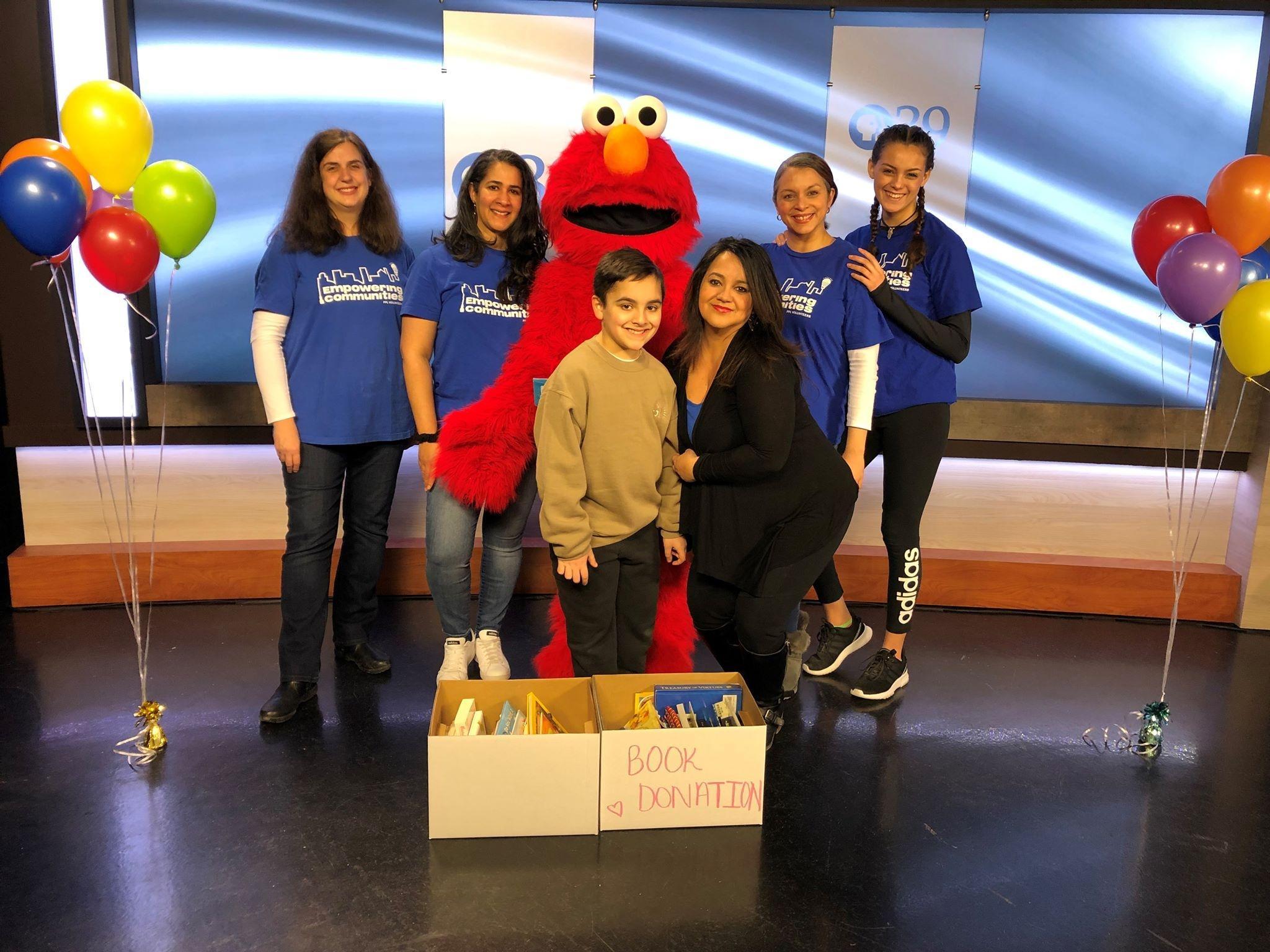PPL corporate volunteers at Elmo's Birthday